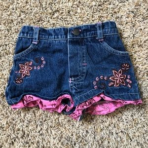 Dora the explorer shorts baby girl clothes